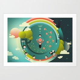 Wonderful (What a Wonderful World) Art Print