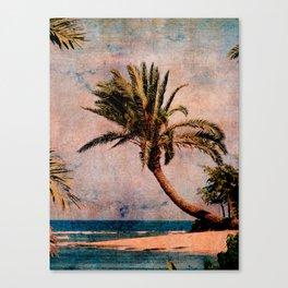Sunset Beach Canvas Print