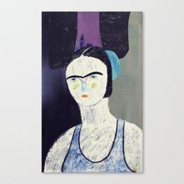 swimmer #2 Canvas Print