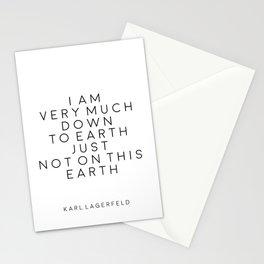 Fashion Wall Art Fashion Decor Karl Lagerfeld Quotes Karl Lagerfeld Print Printable Quotes Fashion Stationery Cards