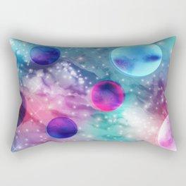 Vaporwave Pastel Space Mood Rectangular Pillow