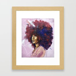 Naturally Kayla Madonna Framed Art Print