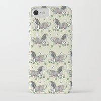 my little pony iPhone & iPod Cases featuring MY LITTLE PONY by MINIZUKA