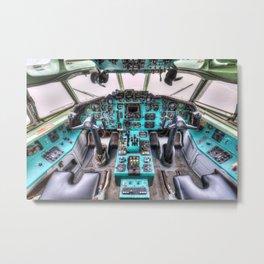 Tupolev TU-154 Cockpit Metal Print