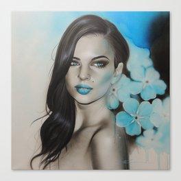 'Blue Sapphire' Canvas Print