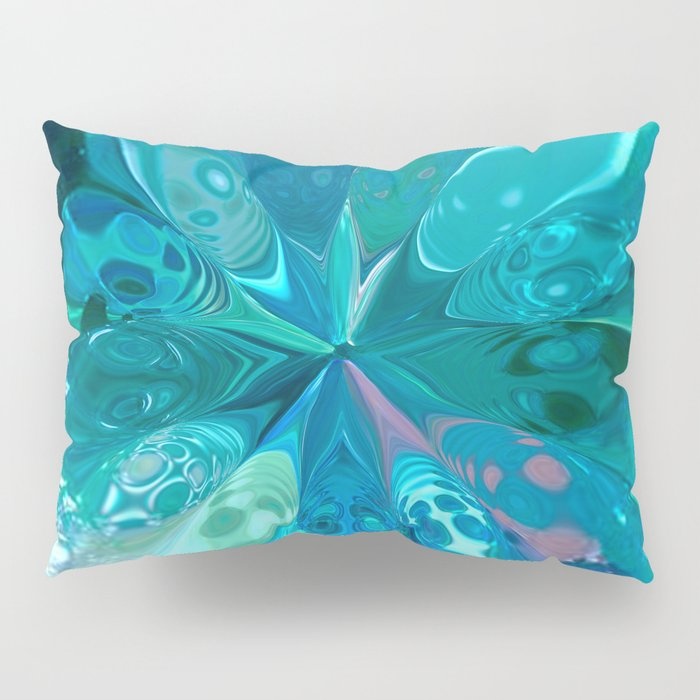 LIQUID SAPPHIRES-2 Pillow Sham