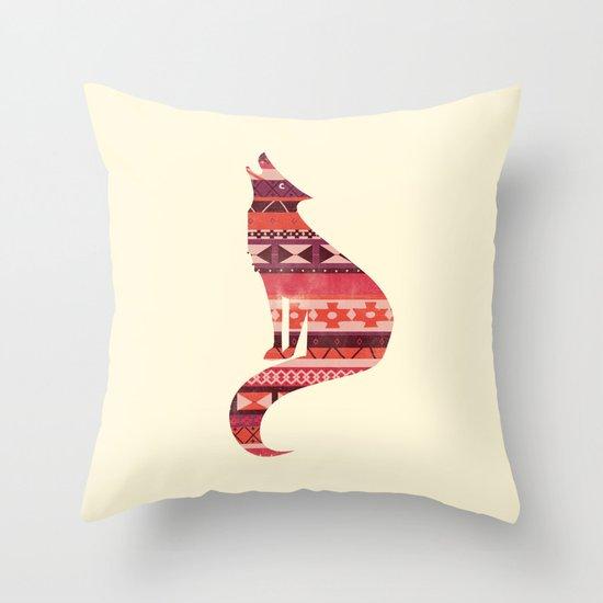Native Song Throw Pillow