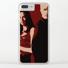 Spike & Dru Clear iPhone Case