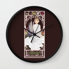 Childlike Empress Nouveau - Neverending Story Wall Clock
