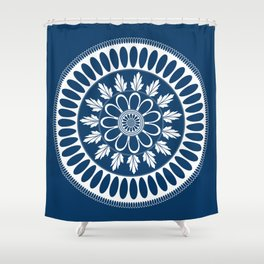 Botanical Ornament Shower Curtain