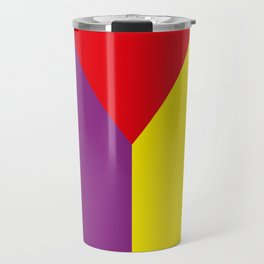 Geometrical, random, colorful, triangles, diagonal, etcetera.... No ideas for a title right now... s Travel Mug