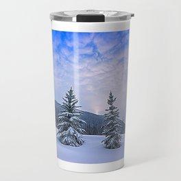 Winter Tree Buddies Travel Mug