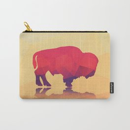 Geometric buffalo Carry-All Pouch