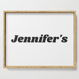 Jennifer's 4600X3000 Serving Tray