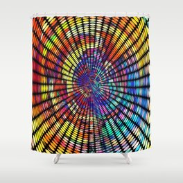 d g ray Shower Curtain