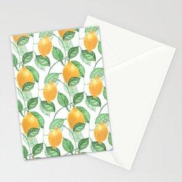 Lemon Garden Stationery Cards