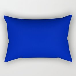 Zaffre - solid color Rectangular Pillow