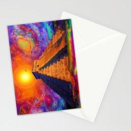 Mayan Pyramid   Stationery Cards
