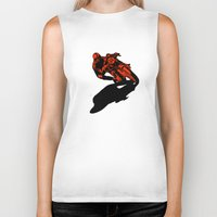 motorcycle Biker Tanks featuring Motorcycle by bike51design