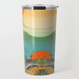 Pool of flowers  Travel Mug