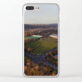 Sketty Lane Sports Village Clear iPhone Case