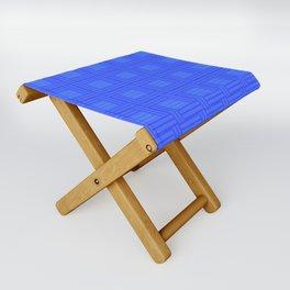Elour Blue Tile Folding Stool
