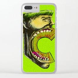 Captain C Clear iPhone Case
