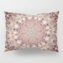 Almond Blossom Mandala Pillow Sham