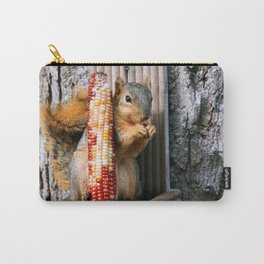 Indian Corn Squirrel Carry-All Pouch