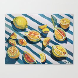 """When life gives you lemons"" Canvas Print"