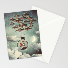 The Rose That Wanted to See the World Stationery Cards