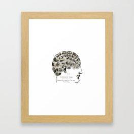 Symbolic Head Framed Art Print