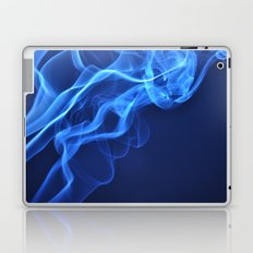 smoky blue Laptop & iPad Skin