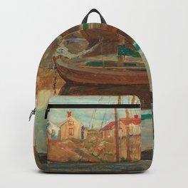 Carl Wilhelmson Boy Fishing Backpack