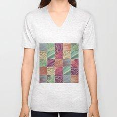 Nature pattern Unisex V-Neck