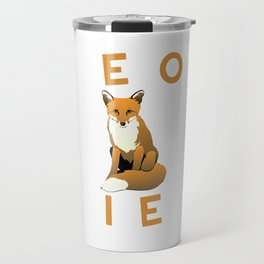 Zero Foxes Given Funny Fox T-shirt Travel Mug