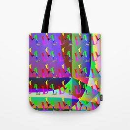 L - pattern a Tote Bag