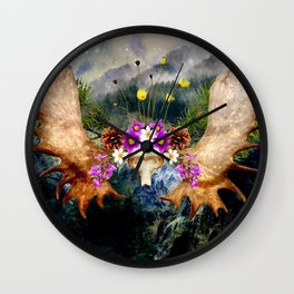 Spirit Of The North Wall Clock