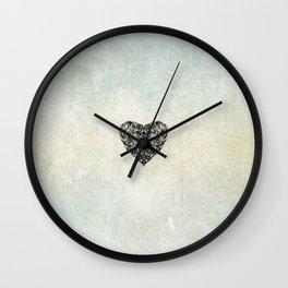 Transparent Heart Wall Clock