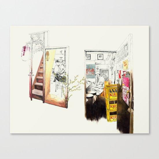 Tuesday Night Doors Canvas Print