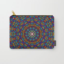 Space and Time - an Isometric Mandala Design Carry-All Pouch