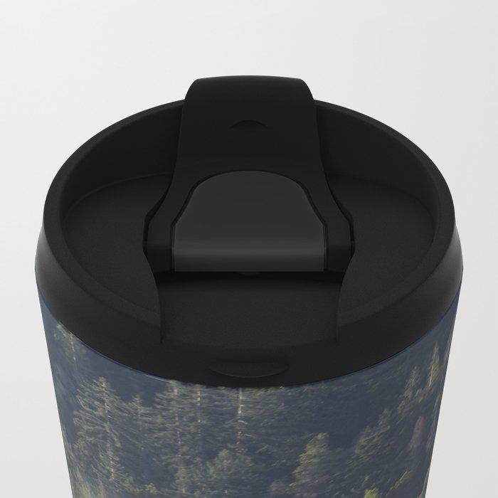 Big Sur Forest Metal Travel Mug