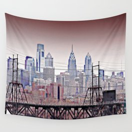 Philly Grit Wall Tapestry