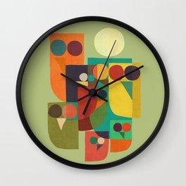 Owl squad Wall Clock