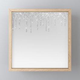 Icicles Framed Mini Art Print