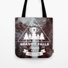 Visit Gravity Falls Tote Bag