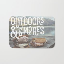 outdoors & S'mores Bath Mat