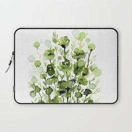 Floral Charm No.1I by Kathy Morton Stanion Laptop Sleeve