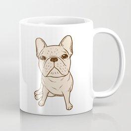 Cream French Bulldog Coffee Mug