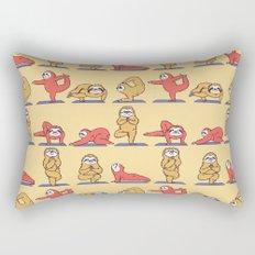 Sloth Yoga Rectangular Pillow